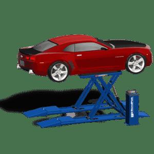 Quality workshop car lifts by Garage Equipment Australia