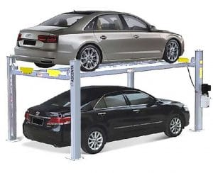Quality workshop car lifts by Garage Equipment Australia